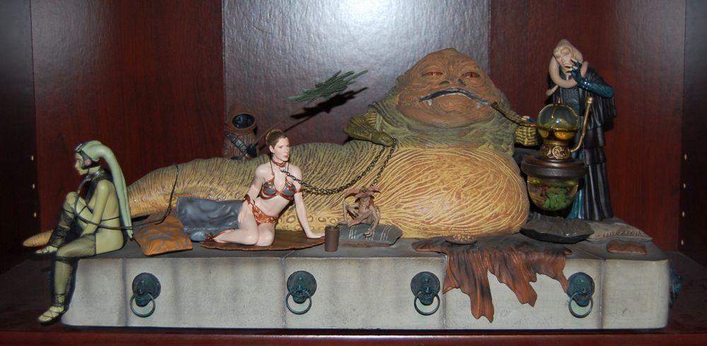 Gentle Giant Slave Leia Jabba