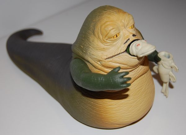 Does Paint Go Bad >> Spitting Jabba the Hutt Figure (and Two-Headed Announcer ...