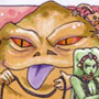 Jabba the Hutt Sketch Card by Irma Ahmed