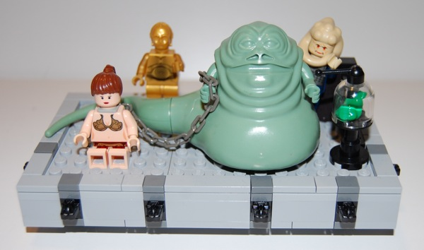 """LEGO """"Design By Me"""" Custom Jabba's Throne 