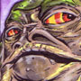 Another Jabba Sketch Card by Mat Nastos