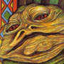 Vintage Jabba the Hutt Bookmark by Random House