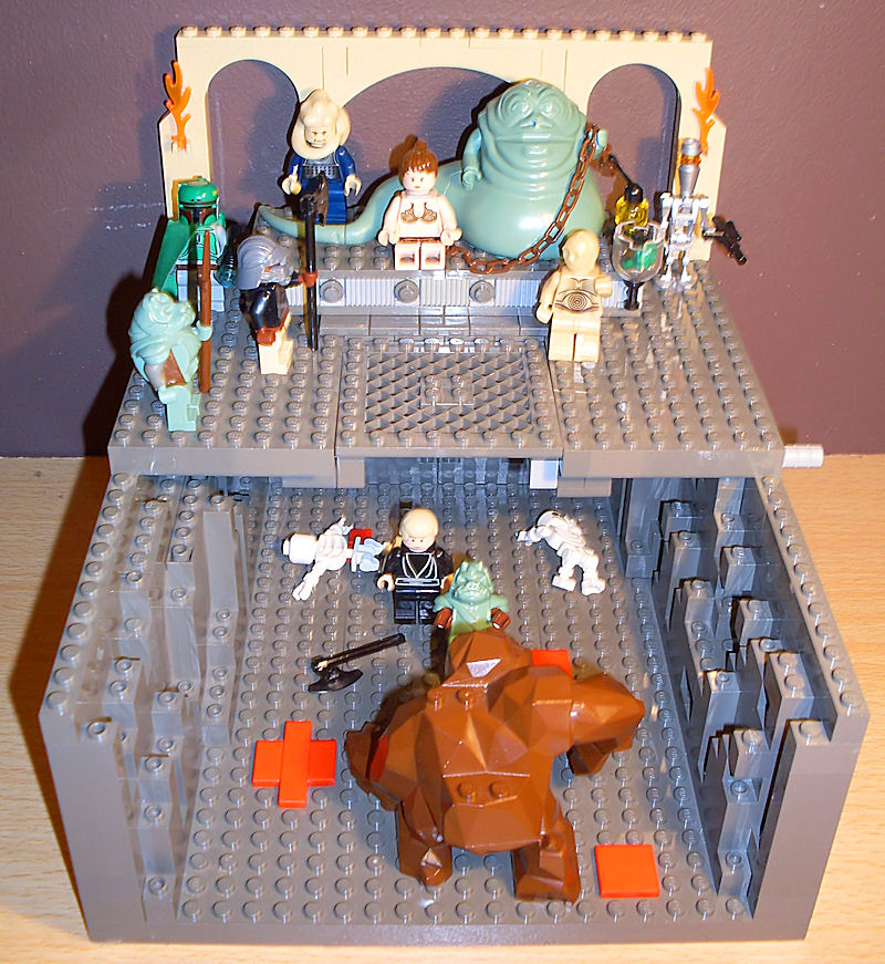 Link Custom Lego Jabbas Palace On Ebay Uk Mighty Jabbas Collection