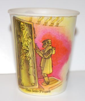Vintage Jabba the Hutt Dixie Cups   Mighty Jabba's Collection