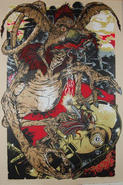 Salacious Crumb Art Poster By Rhys Cooper Mondo Alamo