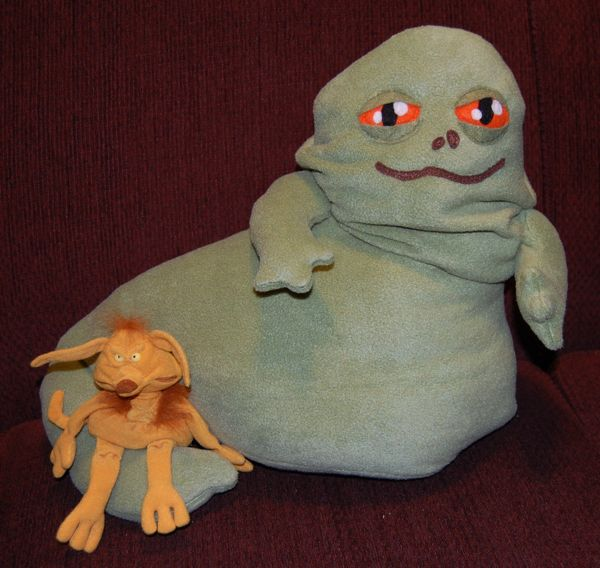 Large Jabba The Hutt Plush By Figurinesbyingrid Mighty