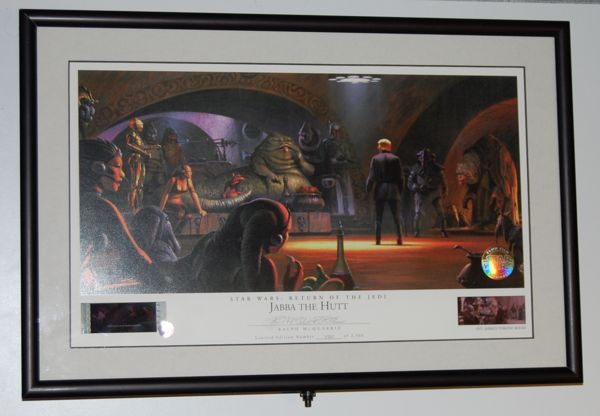 Ralph Mcquarrie Jabba The Hutt Lithograph 70mm Film