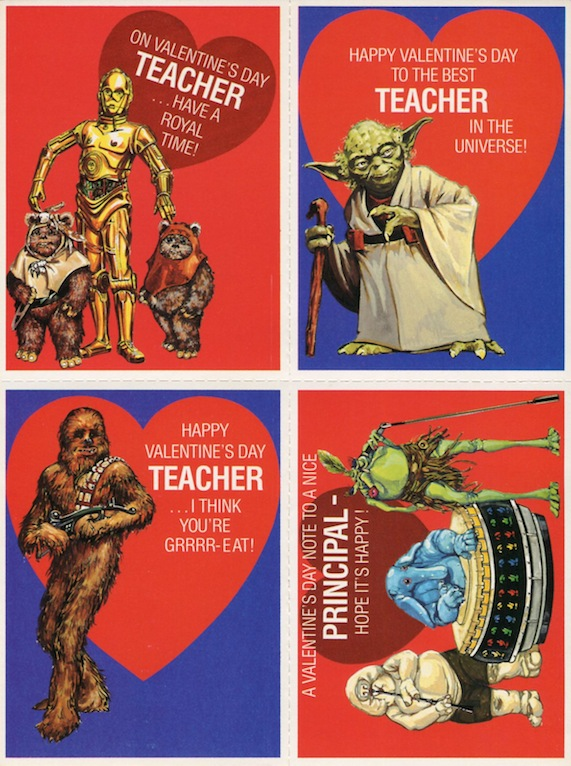 Vintage Jabba The Hutt And Max Rebo Band Valentines By