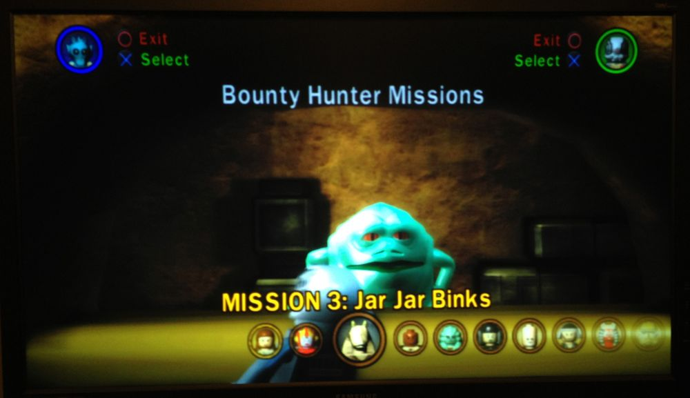 Unlocking Jabba The Hutts Bounty Hunter Missions In Lego Star Wars