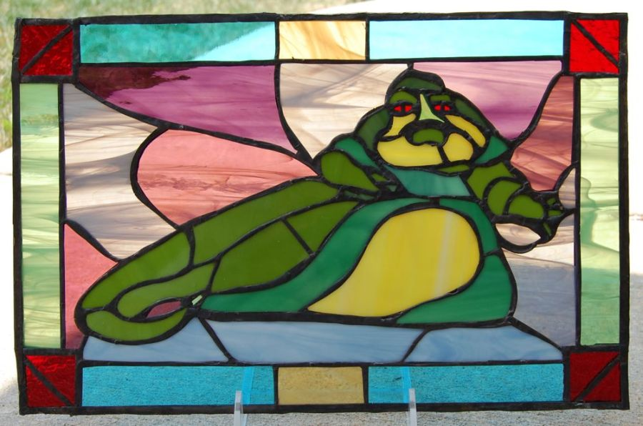 ahhh it feels good to have your work appreciated  Jabba_stained_glass2
