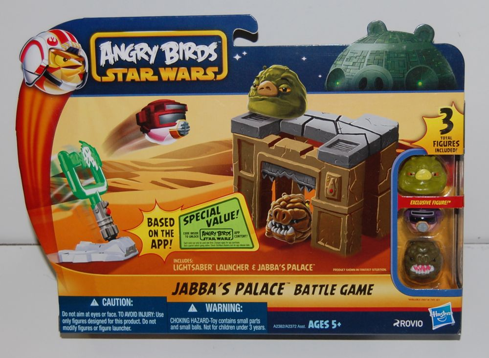 Angry Birds Star Wars Toys : Angry birds star wars ii telepods tv commercial slingshot