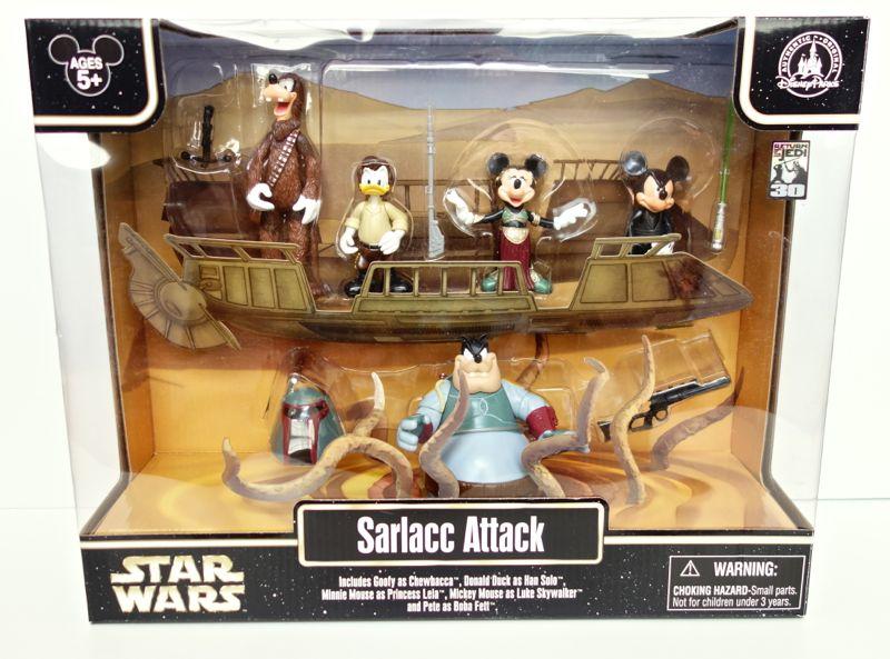 "Disney Star Wars Weekends 2013 ""Sarlacc Attack"" Figure Set"