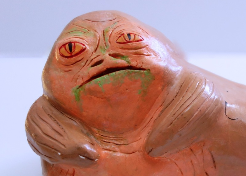 Clay Jabba the Hutt Statue (High School Art Project ...