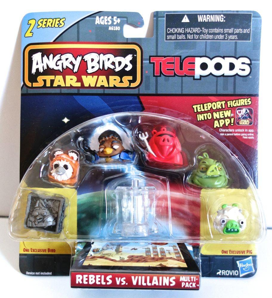 """Rebels vs. Villains Multi-Pack"" Telepods Figures for ...  ""Rebels vs. V..."