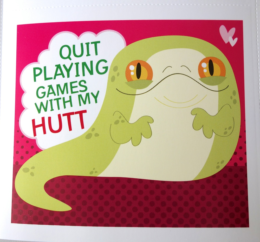 Happy White Day with Belated Valentines Day Items – Star Wars Valentine Cards