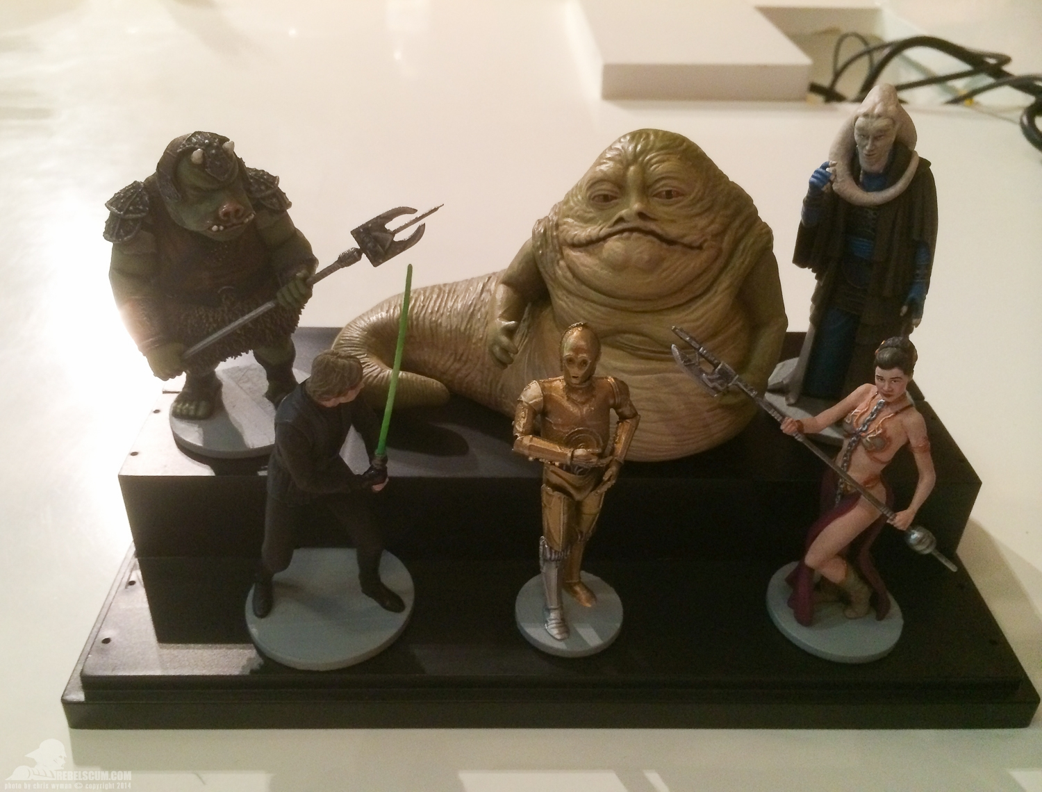 upcoming return of the jedi figurines from disney with jabba s palace characters mighty. Black Bedroom Furniture Sets. Home Design Ideas