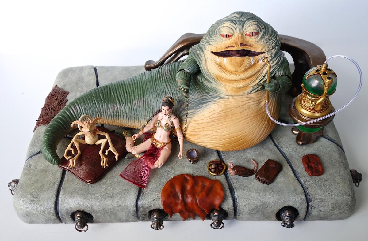 Custom Throne for Black Series Jabba the Hutt Figure ... Jabba The Hutt Costume