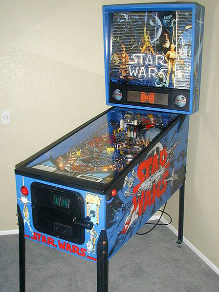 "Star Wars Pinball Machine >> ""Jabba's Bounty"" Part from Data East Star Wars Pinball ..."