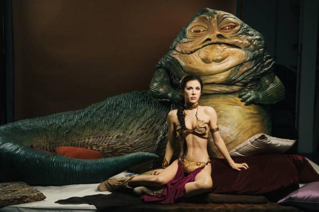Prinzessin Leia im Jabba Palast - Projekt Star Wars