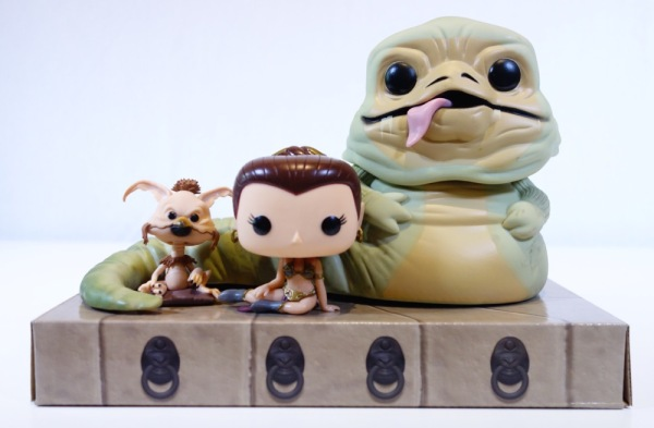 walmartexclusive jabba the hutt pop figure 3pack by