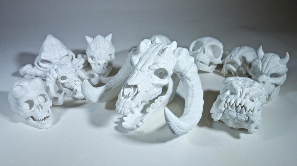 "e752a402a717 Skull Wars"" 3D Printed Star Wars Skulls (3DKitbash)"